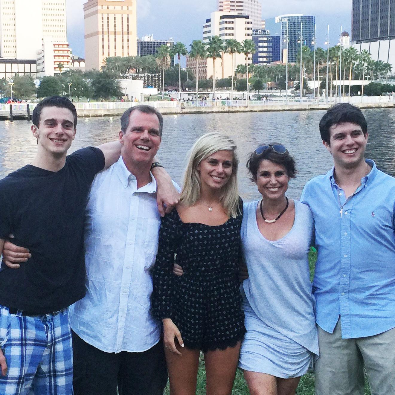 Sharkey Family Photo zoomed